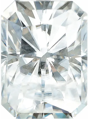 Value Grade Moissanite GHI Color Radiant