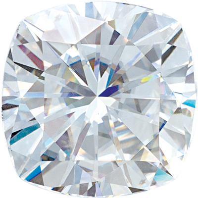 Lab Created Value Quality Loose Moissanite Gemstone in Round Cut, 4.50 mm in Size, 0.42 Carats