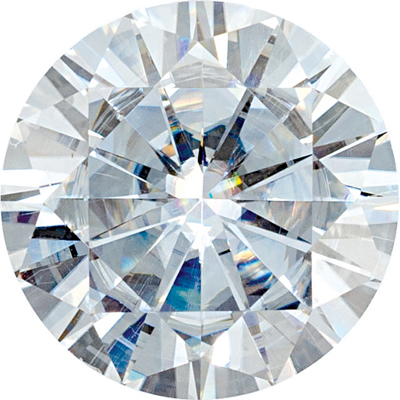 Value Quality Forever One Moissanite Round Cut