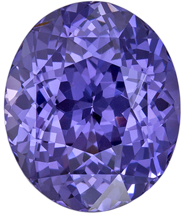 Gorgeous Violet Blue Spinel Loose Gem in Bright Oval Cut in 2.62 carats , 9.0 x 7.5 mm