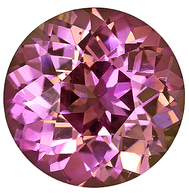 Very Bright and Well Cut Violet Sapphire Natural Gemstone, Round Cut, 2.49 carats - SOLD