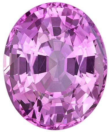 Very Special Large Natural Pink Sapphire Ceylon - Just Beautiful Oval Cut, 4.15 carats