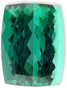 Very Special USA Cutting Loose Blue Green Tourmaline Gemstone 18.81 carats