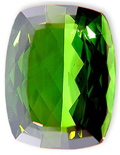 Vivid Deep Green Tourmaline Gemstone 37.16 carats