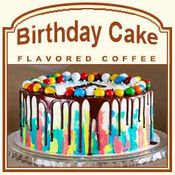 Birthday Cake Flavored Coffee (1lb bag)