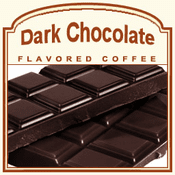 Dark Chocolate Flavored Coffee (1/2lb bag)