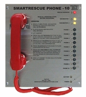 10 Call Box Station<br>2500-210D (Surface Mount)<br>  2500-210PSS (Flush Mount)