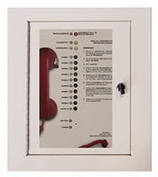 10 Call Box Station <br> 2500-210B (Surface Mount Cabinet)