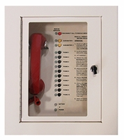 10 Call Box Station<br>2500-210FM (Flush Mount Cabinet)