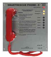 5 Call Box Station<br>2500-205D (Surface Mount)<br> 2500-205PSS (Flush Mount)