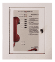 5 Call Box Station <br> 2500-205B (Surface Mount Cabinet)