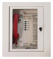 5 Call Box Station<br>2500-205FM  (Flush Mount Cabinet)