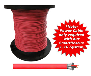 Power Cable<br>(Solid 18-2 AWG)