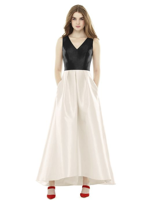 ALFRED SUNG BRIDESMAID DRESSES: ALFRED SUNG D723