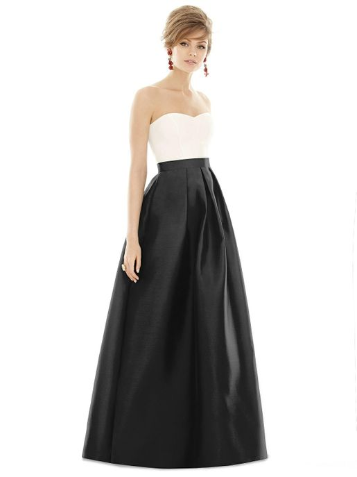 ALFRED SUNG BRIDESMAID DRESSES: ALFRED SUNG D755