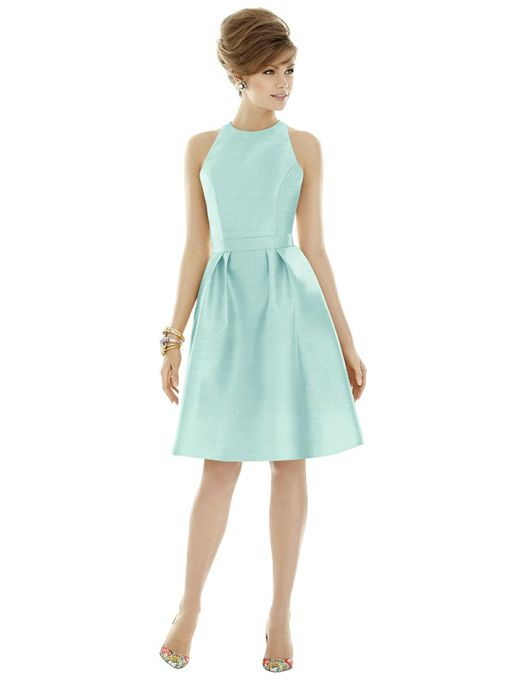 ALFRED SUNG BRIDESMAID DRESSES: ALFRED SUNG D757