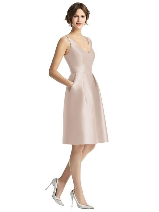 ALFRED SUNG BRIDESMAID DRESSES: ALFRED SUNG D768