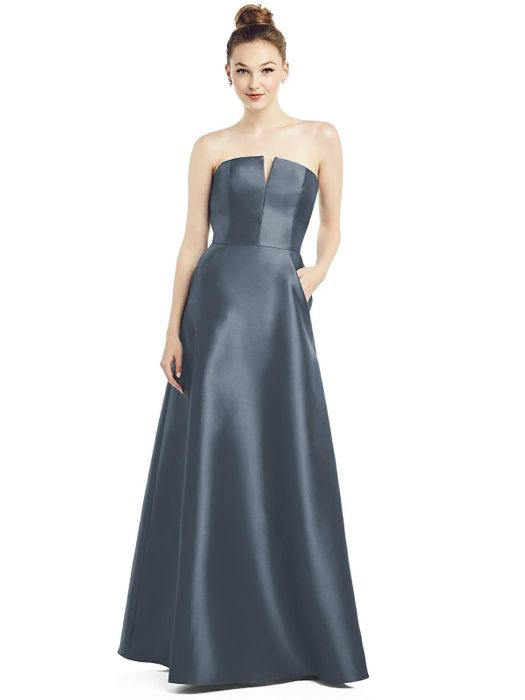 ALFRED SUNG BRIDESMAID DRESSES: ALFRED SUNG D774