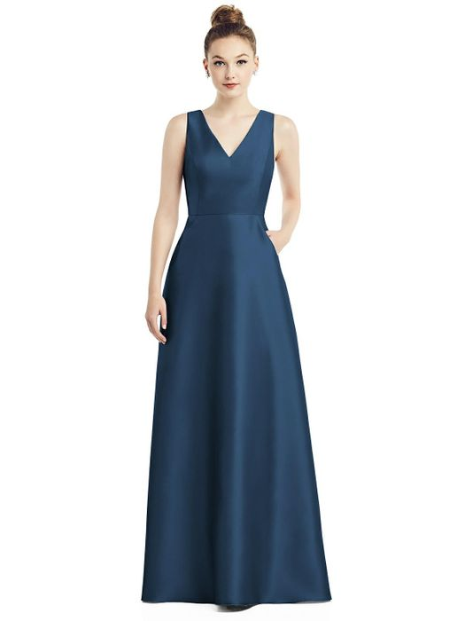 ALFRED SUNG BRIDESMAID DRESSES: ALFRED SUNG D778