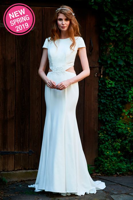 BARI JAY WEDDING DRESS: BARI JAY 2095