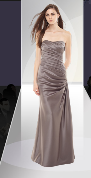 D'ZAGE BRIDESMAID DRESSES: D'ZAGE 8021