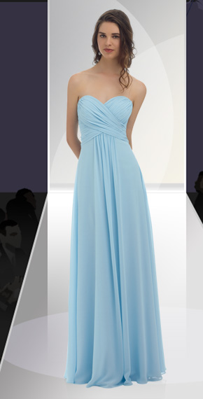 D'ZAGE BRIDESMAID DRESSES: D'ZAGE 8033