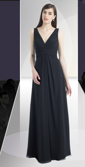 D'ZAGE BRIDESMAID DRESSES: D'ZAGE 8057