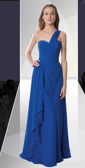 D'ZAGE BRIDESMAID DRESSES: D'ZAGE 8075