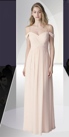 D'ZAGE BRIDESMAID DRESSES: D'ZAGE 8111