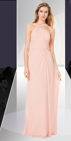 D'ZAGE BRIDESMAID DRESSES: D'ZAGE 8130