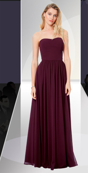 D'ZAGE BRIDESMAID DRESSES: D'ZAGE 8134