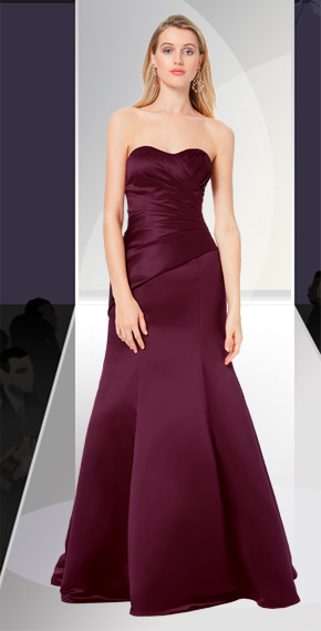 D'ZAGE BRIDESMAID DRESSES: D'ZAGE 8138