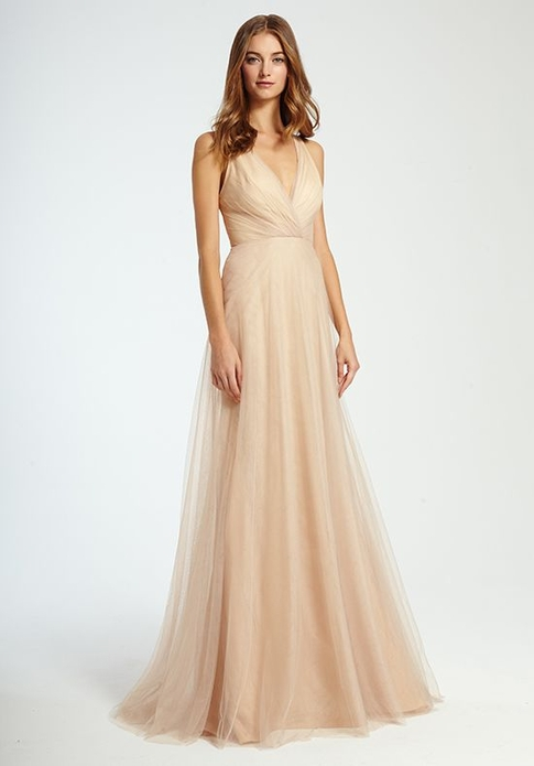 MONIQUE LHUILLIER BRIDESMAID DRESSES: MONIQUE LHUILLIER 450341 AVA