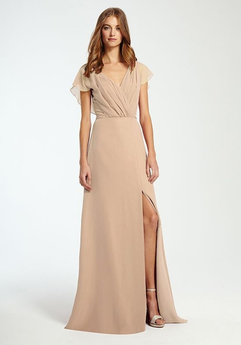 MONIQUE LHUILLIER BRIDESMAID DRESSES: MONIQUE LHUILLIER 450355 GWEN