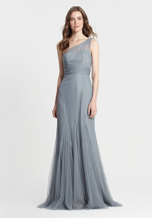 MONIQUE LHUILLIER BRIDESMAID DRESSES: MONIQUE LHUILLIER 450390 ATHENA