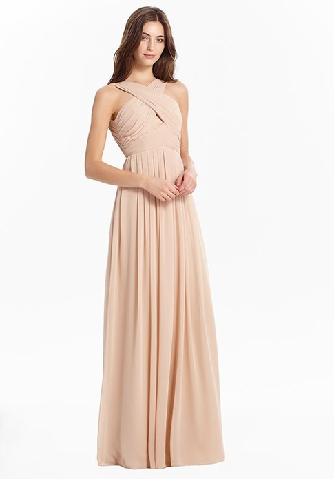 MONIQUE LHUILLIER BRIDESMAID DRESSES: MONIQUE LHUILLIER 450437 KINSLEY