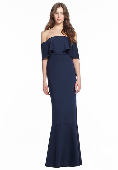 MONIQUE LHUILLIER BRIDESMAID DRESSES: MONIQUE LHUILLIER 450500 SABINE