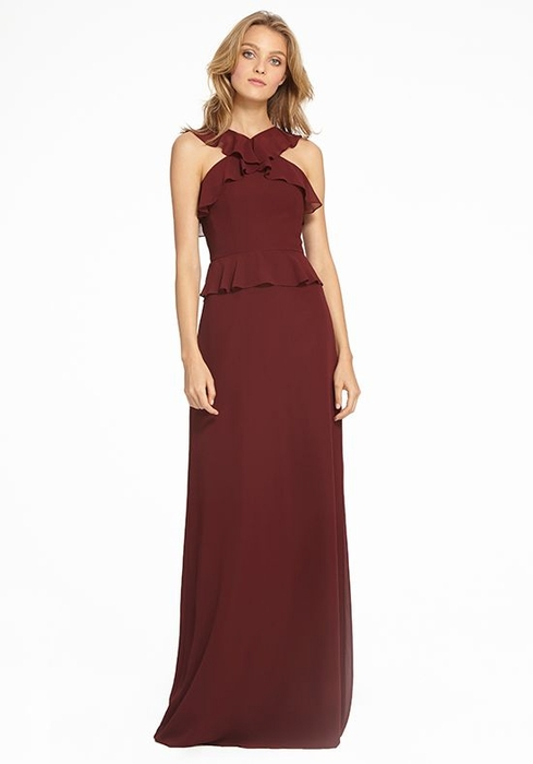 MONIQUE LHUILLIER BRIDESMAID DRESSES: MONIQUE LHUILLIER 450528 ADELE