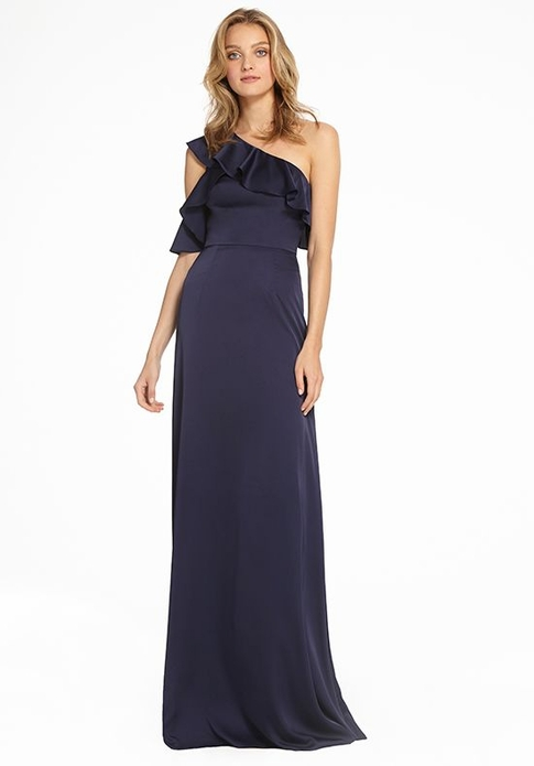 MONIQUE LHUILLIER BRIDESMAID DRESSES: MONIQUE LHUILLIER 450547 LIZBETH