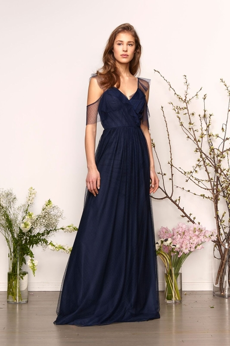 MONIQUE LHUILLIER BRIDESMAID DRESSES: MONIQUE LHUILLIER 450566 LAILA