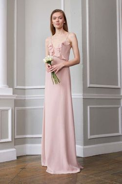 MONIQUE LHUILLIER BRIDESMAID DRESSES: MONIQUE LHUILLIER 450619 FAYRE