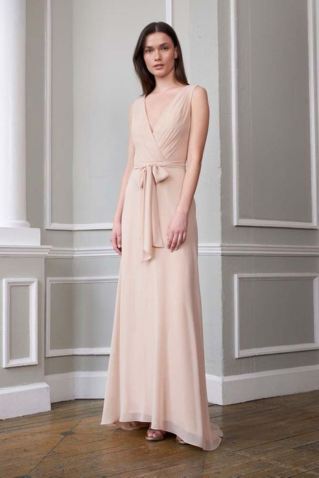 MONIQUE LHUILLIER BRIDESMAID DRESSES: MONIQUE LHUILLIER 450620 REESE