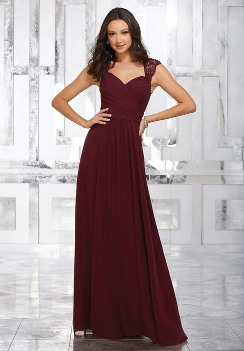 Mori Lee BRIDESMAID DRESSES: Mori Lee 21534