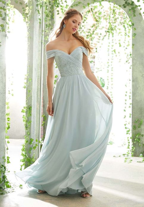 Mori Lee BRIDESMAID DRESSES: Mori Lee 21614