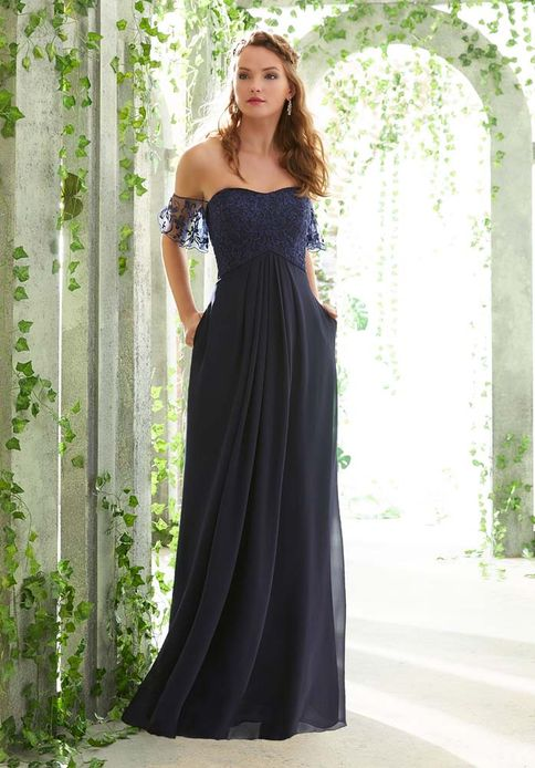 Mori Lee BRIDESMAID DRESSES: Mori Lee 21617