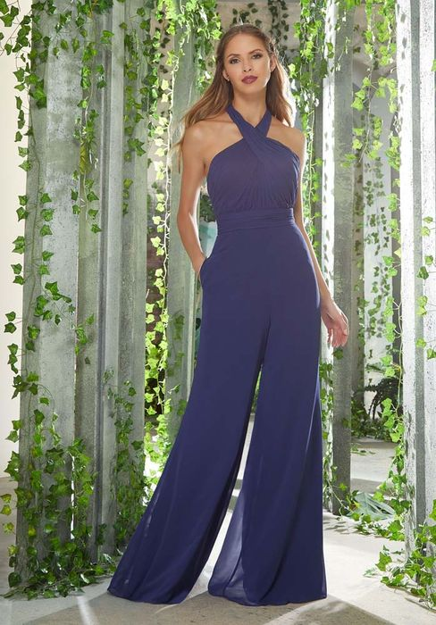 Mori Lee BRIDESMAID JUMPSUIT: Mori Lee 21626