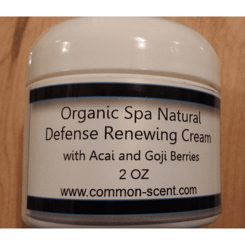Organic Spa Natural Defense Renewing Cream with Acai & Goji Berries