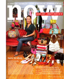 Fashion Bliss LLC Founder Mika Takeuchi in 7x7 Magazine's NOW Opener