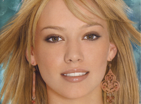 Hillary Duff in Tarina Tarantino Earrings