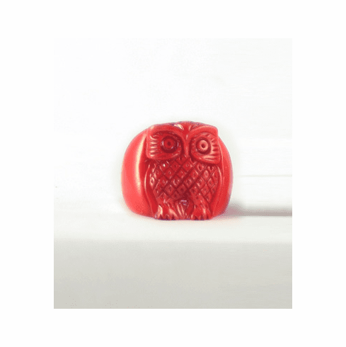 Kris Nations Owl Ring (Red)